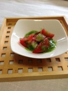 トマトとタコのサラダ