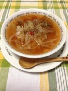 スープ 出来上がり